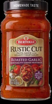 Bertolli® Rustic Cut™ Roasted Garlic Marinara with Garden Vegetables Sauce