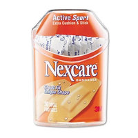 3M Nexcare Active Extra Cushion Bandages, 36 ct