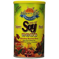 Nature's Life Soy, Super Red, Refreshing Mountain Berry, 3 Count