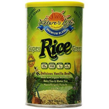 Nature's Life Rice, Super Green, (Pack of 3), 1 Pound
