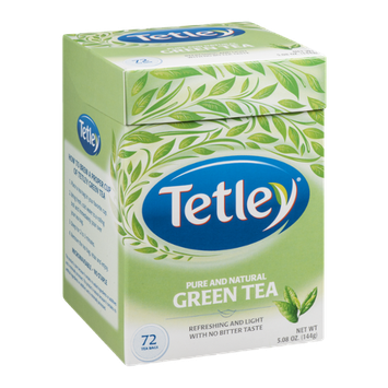 Tetley Green Tea - 72 CT