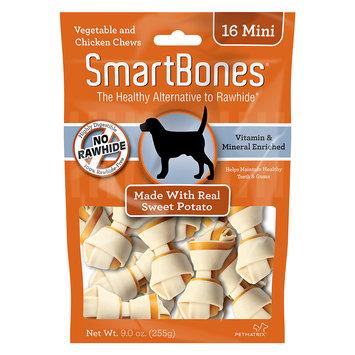 SmartBones Mini Sweet Potato Vegetable and Chicken Chews: Mini - 16 P