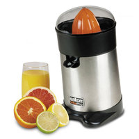 Salton Stainless Steel Juicer-STAINLESS STEEL-One Size