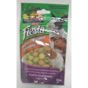 Kaytee Pet Products SKT100502799 Fiesta Yogurt Dipped Timothy Hay Small Animal Treat, 2.5-Ounce, Pineapple and Papaya Flavor