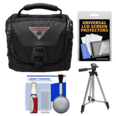 Precision Design PD-C25 Camera / Camcorder Case with Rain Cover & Tripod + Accessory Kit