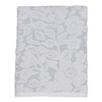 LC Lauren Conrad Silhouette Floral Bath Towel, Blue