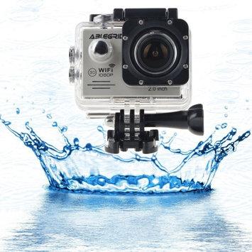 ABLEGRID SJ5000 Novatek 96655 Sports HD DV Full HD Waterproof Camera 1080P WiFi LCD Screen Sliver