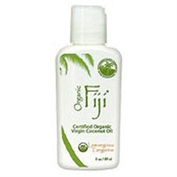 Organic Fiji Coconut Oil Lemongrass Tangerine - 3 fl oz