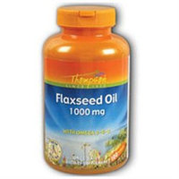 Flax Oil 1000mg 100 softgels, Thompson Nutritional Products