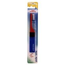Smile Brite, Fixed Head Nylon Toothbrush Travel