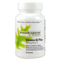 FoodScience of Vermont, Vitamin K2 Plus 60 capsules