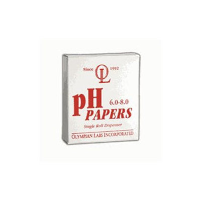 Olympian Labs, pH Papers 6.0 - 8.0 15 ft Roll