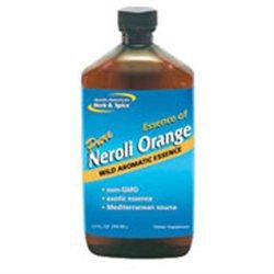 North American Herb & Spice Essence Of Neroli Orange 12 Oz