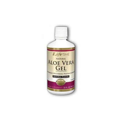 Aloe Vera Gel Supplement All Natural, 32 oz, LifeTime