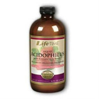 Liquid Acidophilus Milk-Free Soy Base - Strawberry Vanilla Flavor, 16 oz, LifeTime