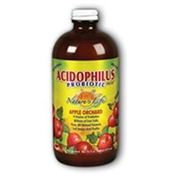 Nature's Life Acidophilus Probiotic Pro 96 Apple Orchard - 16 fl oz