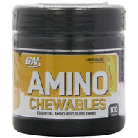 Optimum Nutrition Amino Chewables - Lemonade, 100 Pieces