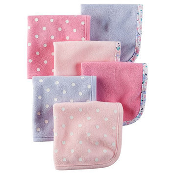 Carter's 6-Pack Terry Washcloths