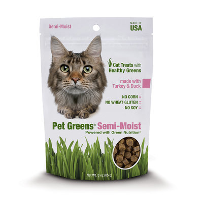 Bell Rock Semi-Moist Cat Treats Turkey and Duck 3 oz