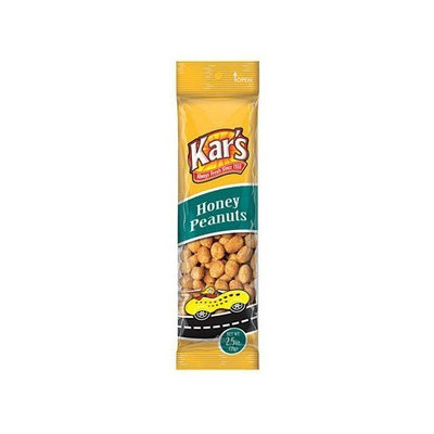 Kars Nuts Kar Nut Products Company 8004 Honey Peanuts 2.5 Oz. (Pack of 12)