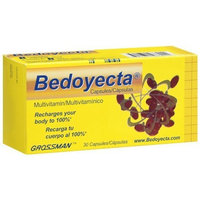 Bedoyecta Multivitamins 30 Caps