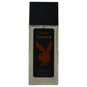 Coty Playboy Miami Parfum Men's 2.5-ounce Deodorant Spray