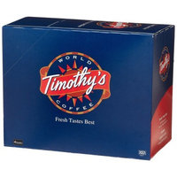 Timothy's World Coffee, Rainforest Decaf Espresso , K-Cup Portion Pack for Keurig K-Cup Brewers, 24-Count (Pack of 2)