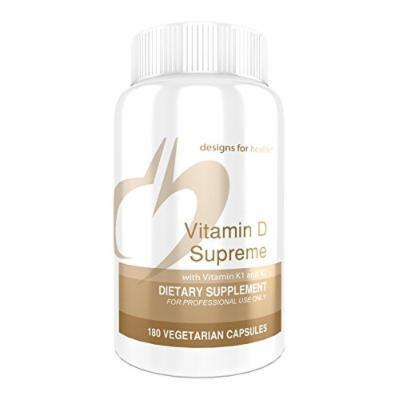 Designs for Health - Vitamin D Supreme - 180 Capsules
