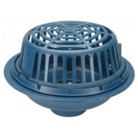 Zurn-wilkins Zurn Wilkins ZC100-3NL Roof Drain Cast Iron Dome, 3 Threaded Side Outlet, Neo-Loc Outlet