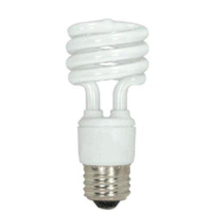 Satco Products Inc. Satco S7214 11 Watt T2 Ultra Mini Spiral Lamps CFL Bulb