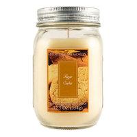 Holiday Memories Sugar Cookie 12.5-oz. Mason Jar Candle, Multicolor