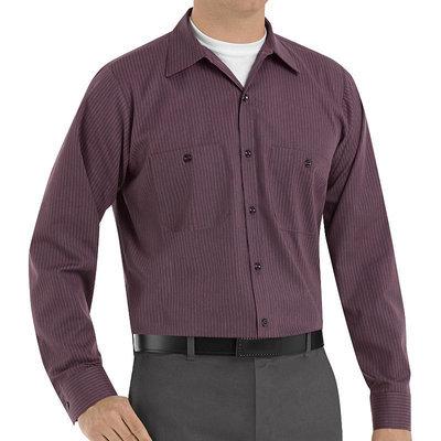 Red Kap Durastripe Work Shirt Multi-color 3X
