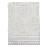 St. Nicholas Square® Shine Bright Bath Towel, White Oth