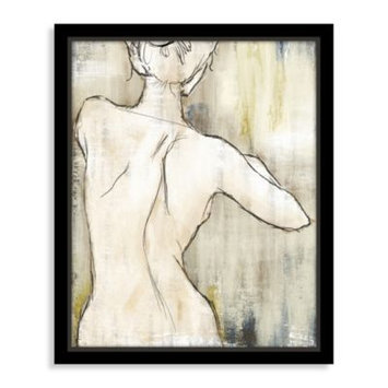 Essence of Beauty Canvas Art With Floating Frame I