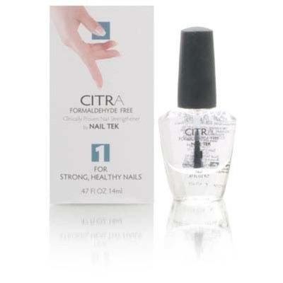 Nail Tek CITRA Formaldehyde Free Nail Strengthener Step 1 for Strong, Healthy Nails 14ml/0.47oz