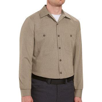 Red Kap Work Clothes Uniform Tops Khaki Long sleeve Shirt