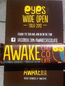 AWAKE Caffeinated Chocolate bar
