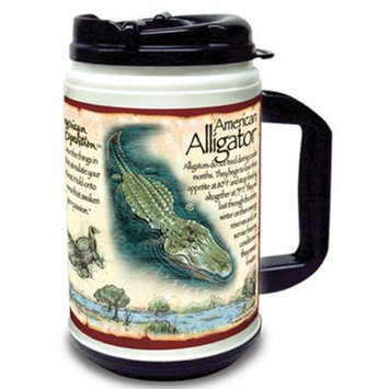 Ideaman American Expediton TM24115 Alligator 24oz. Plastic Thermal Mug