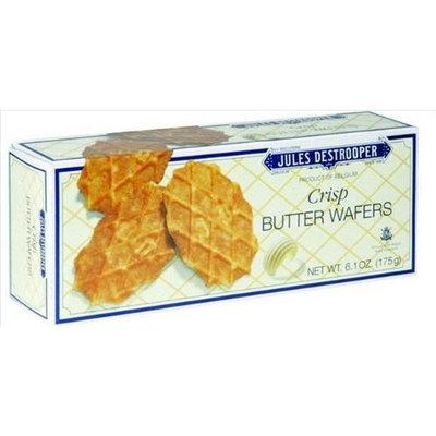 Jules Destrooper Cookie Wafer Crisp Bttr 6.1 OZ (Pack of 12)