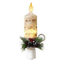St. Nicholas Square® Candle Night Light, Multicolor