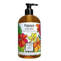 Pure Life Soap Co. Pure Life Shampoo Papaya, 15 Fluid Ounce