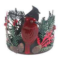 SONOMA Goods for Life™ Small Cardinal Candle Holder, Multicolor