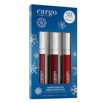 CARGO Liquid Lipstick Gift Set - Limited Edition, Multicolor
