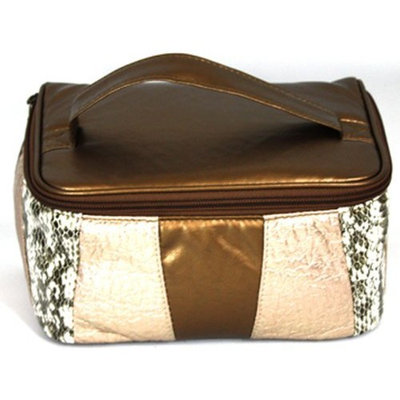 Danielle Gold Rush Train Case Cosmetic Bag