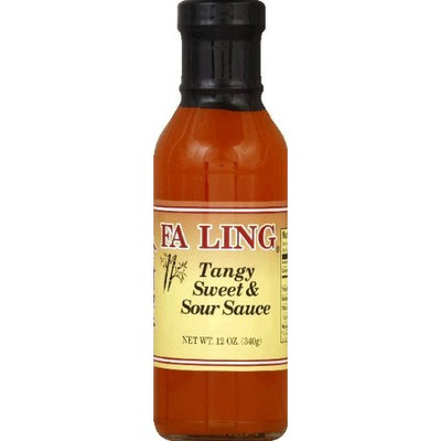 Fa Ling Tangy Sweet N Sour Sauce 12.0 oz (Pack of 6)