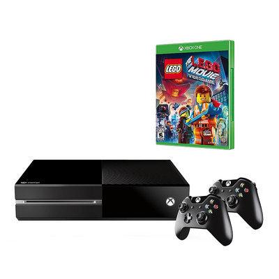 Xbox One 500GB The LEGO Movie Videogame Bundle (3 LEGO Games), Multi ...