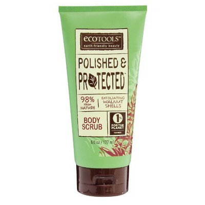 Ecotools Polished and Protected Body Scrub, 6-Ounce (Pack of 2)