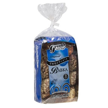 Greens Cakes Chocolate Babka - 24 oz