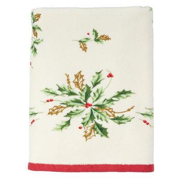 Lenox Holiday Printed Bath Towel, Multicolor