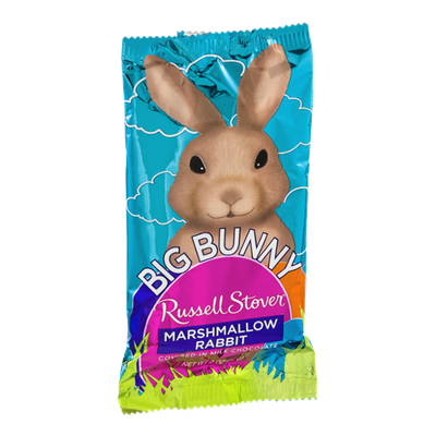 Russell Stover Big Bunny Marshmallow Rabbit